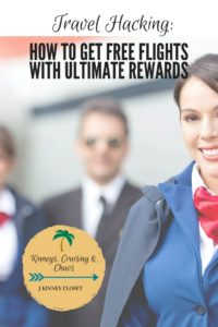 Want to learn how to earn free flights? Use the Ultimate rewards program!