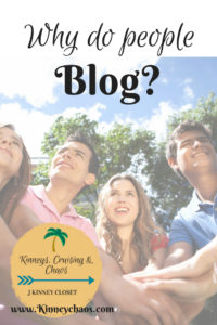 Why do People Blog? #blogging #bloggers #blog