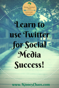Learn to use Twitter for Social Media Success.